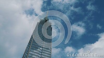 Πύργος Vietcombank HCM άποψης Timelapse απόθεμα βίντεο