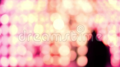 Ροζ αφηρημένο φόντο φωτός από το φανάρι της Ταϊλάνδης τη νύχτα Έννοιες εορτασμού στο φεστιβάλ Γι Πενγκ φιλμ μικρού μήκους