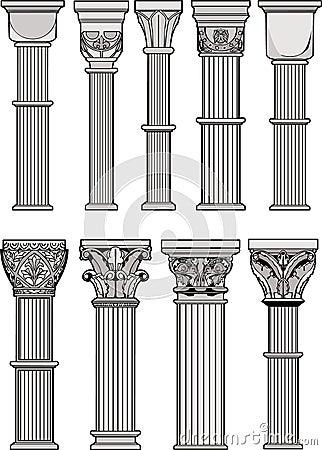 Ρωμαϊκές στήλες