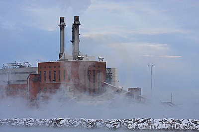 ρύπανση θερμική