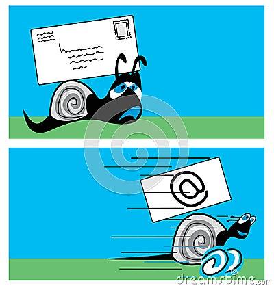 σαλιγκάρι ταχυδρομείου