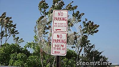 Σημάδια στάθμευσης, προειδοποιήσεις, νόμοι κυκλοφορίας