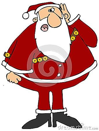Σκληρά της ακρόασης Santa