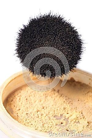 σκόνη βουρτσών