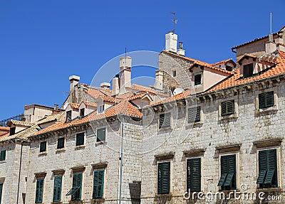 Σπίτια, Dubrovnik, Κροατία