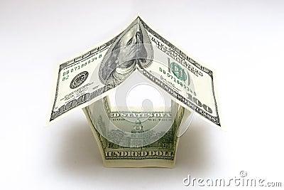 σπίτι δολαρίων 100 λογαριασμών