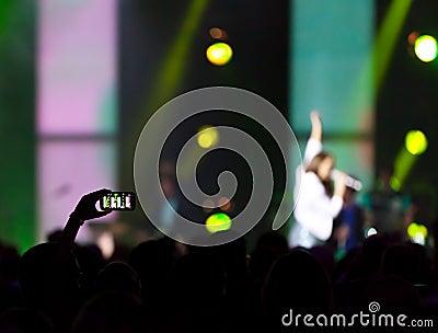 Στιγμιότυπο συναυλίας