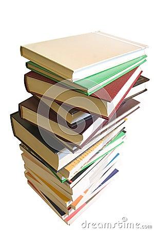 στοίβα σωρών βιβλίων