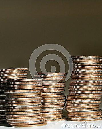 στοίβα 2 νομισμάτων