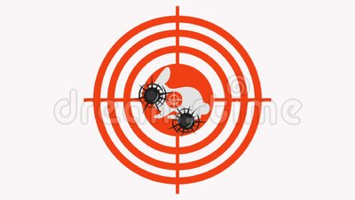 Στοχευμένες βολές στο στόχο απεικόνιση αποθεμάτων