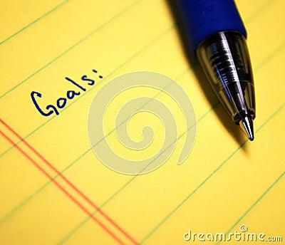 στόχοι γραπτοί