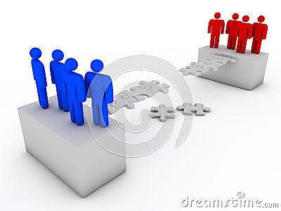 συνδέοντας ομάδες