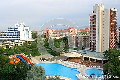 σύνθετο ξενοδοχείο