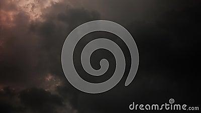 Σύννεφα θύελλας, χρονικό σφάλμα, 4K, Thunder-Storm, καιρική πρόβλεψη φιλμ μικρού μήκους