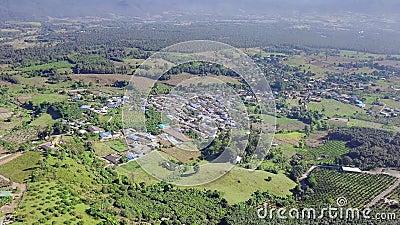 Τακτοποίηση στην αγροτική περιοχή στη βόρεια Ταϊλάνδη ( απόθεμα βίντεο