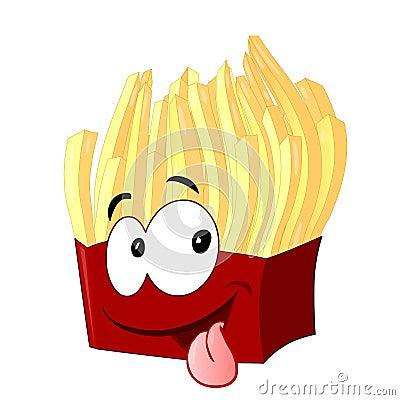 τηγανιτές πατάτες προσώπο&u
