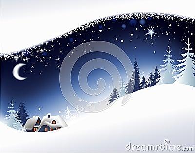 τοπίο Χριστουγέννων