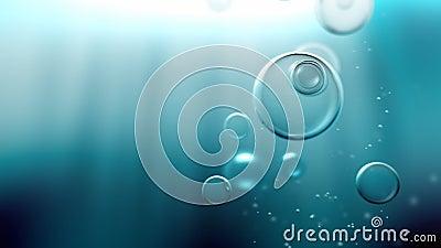 Το νερό βράζει βρόχος απόθεμα βίντεο