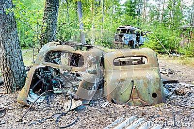 Το παλαιό νεκροταφείο αυτοκινήτων