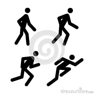 τρέξιμο εικονογραμμάτων