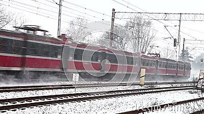 Τραίνο το χειμώνα φιλμ μικρού μήκους