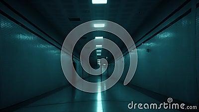 Τρομακτικός σκοτεινός διάδρομος, σήραγγα φιλμ μικρού μήκους