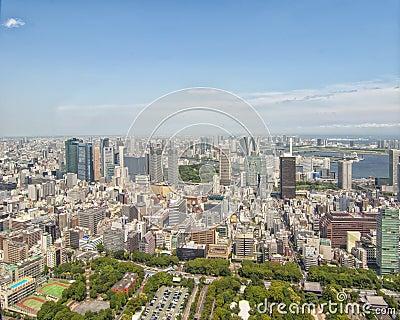 Τόκιο, Ιαπωνία Εκδοτική Στοκ Εικόνες