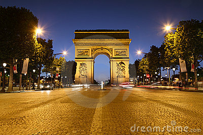 τόξο de Παρίσι triomphe