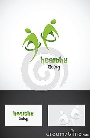 υγιής διαβίωση εικονιδίων