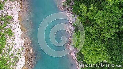 Φαράγγι ποταμών βουνού φιλμ μικρού μήκους