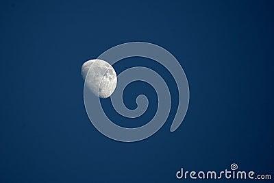 φεγγάρι ημέρας