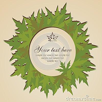 φύλλα εμβλημάτων φθινοπώρου