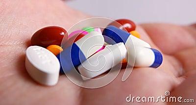 χέρι φαρμάκων