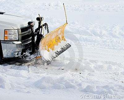 χιόνι αρότρων