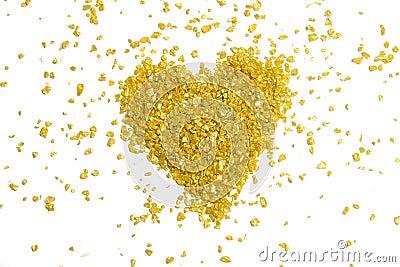 χρυσή καρδιά