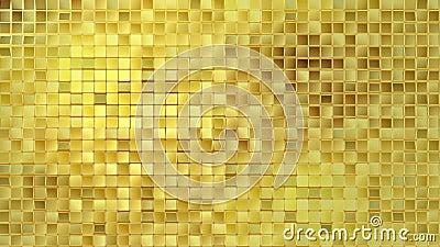 Χρυσός βρόχος υποβάθρου διανυσματική απεικόνιση