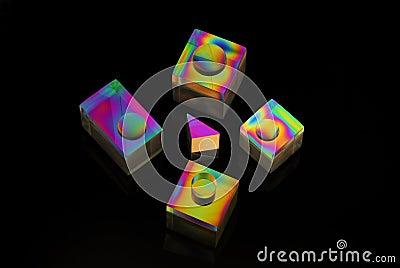 χρωματισμένες μορφές