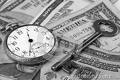χρόνος χρημάτων έννοιας
