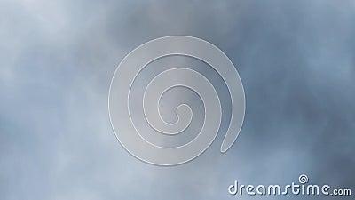 Ψηφιακός τέλεια άνευ ραφής βρόχος του καπνού αργά που επιπλέει μέσω του διαστήματος