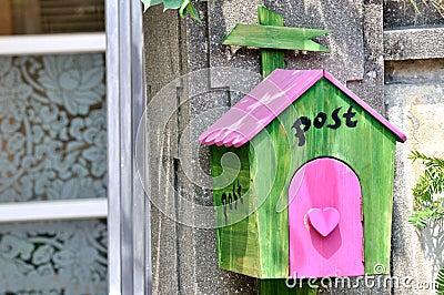 Όμορφη ταχυδρομική θυρίδα