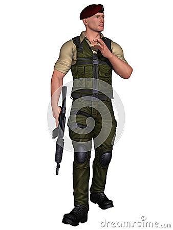 όπλο στρατιωτών