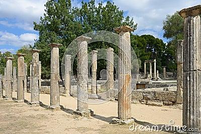 希腊奥运会的奥林匹亚起源图片