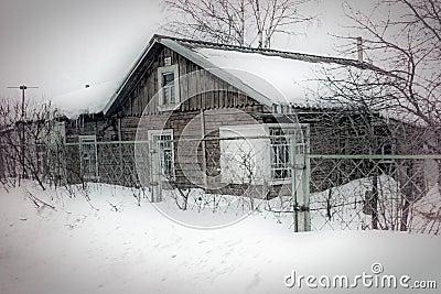 素描房子立体图