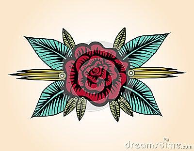 小罗斯纹身花刺样式