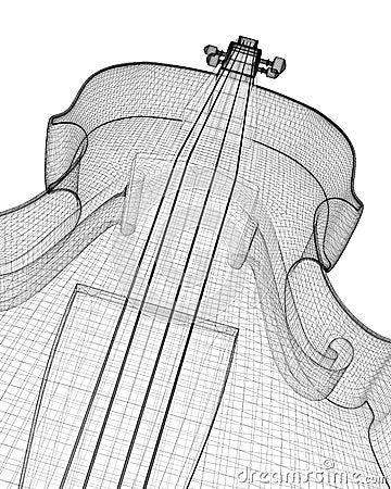 小提琴 库存例证 - 图片图片