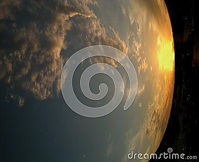 абстрактная земля