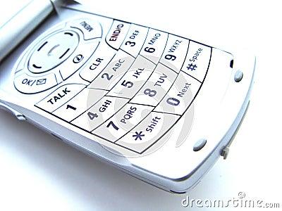 абстрактный мобильный телефон