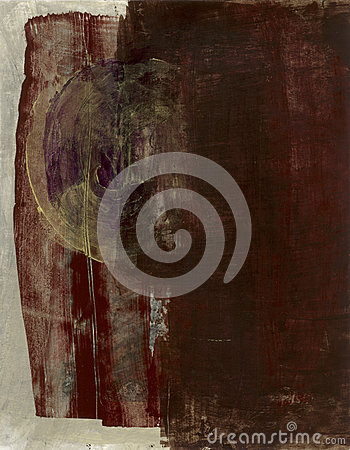 Абстрактный Brown с вортексом