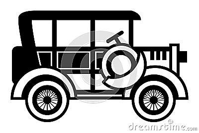 автомобиль ретро