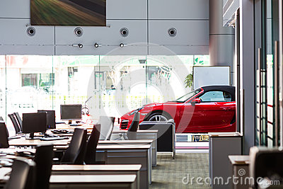 Автомобиль для продажи Редакционное Стоковое Фото